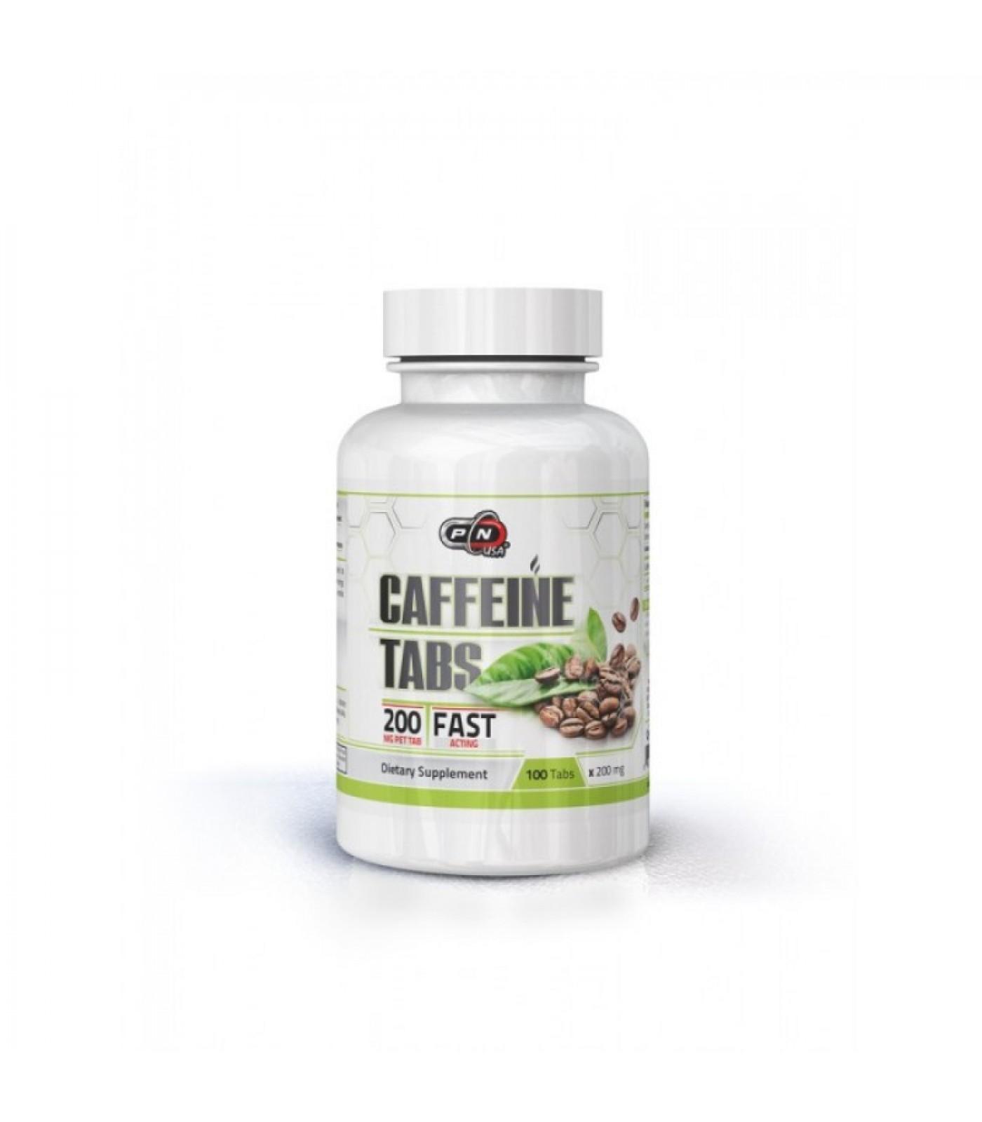 Pure Nutrition - Caffeine / 200mg / 100tabs.