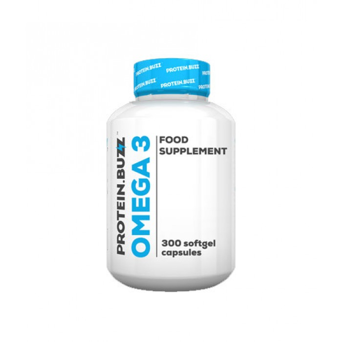 PROTEIN.BUZZ Omega 3 / 300 Softgels