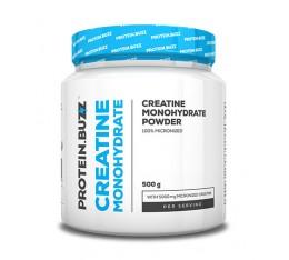 PROTEIN.BUZZ - Creatine Monohydrate / 500g. Хранителни добавки, Креатинови продукти