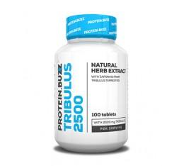PROTEIN.BUZZ - Tribulus 2500 / 100 Tabs. Хранителни добавки, Стимулатори за мъже, Трибулус-Терестрис