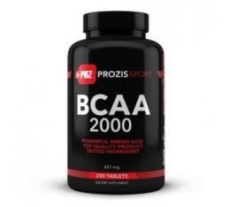 Prozis - BCAA 2000 / 200 tabs. Хранителни добавки, Аминокиселини, Разклонена верига (BCAA)