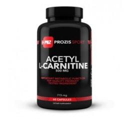 Prozis - Acetyl-L-Carnitine / 60caps. Хранителни добавки, Отслабване, Л-Карнитин