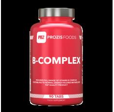 Prozis - Vitamin B-Complex / 90 tabs. Хранителни добавки, Витамини, минерали и др., Витамин B