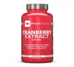 Prozis - Cranberry Extract 600mg / 60 caps.