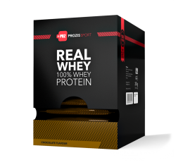 Prozis - 100% Real Whey Protein Sachets / 10 x 25g. Хранителни добавки, Протеини, Суроватъчен протеин