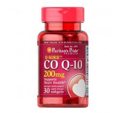 КЮ-СОРБ ™ Kоензим Q-10 - 200 mg, 30 софтгел капсули с бързо усвояване