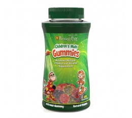 МУЛТИВИТАМИНИ МИНЕРАЛИ ЗА ДЕЦА, 120 желирани бонбони със захар