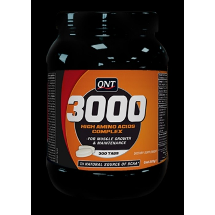 QNT - Amino Acid 3000 / 300 Tabs.