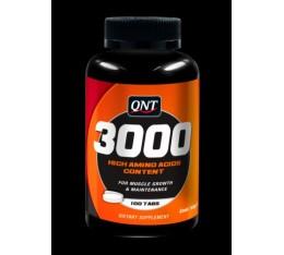 QNT - Amino Acid 3000 / 100 Tabs. Хранителни добавки, Аминокиселини, Комплексни аминокиселини