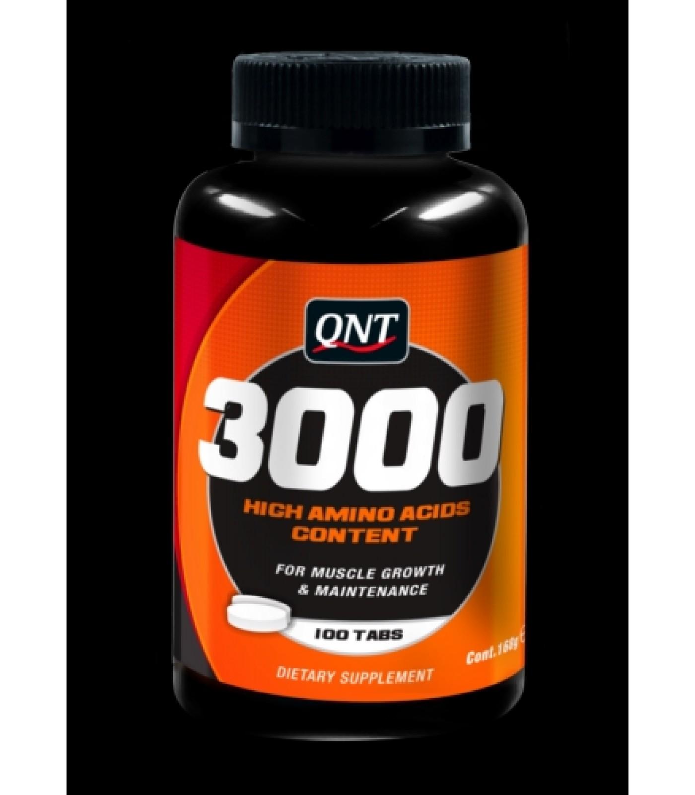 QNT - Amino Acid 3000 / 100 Tabs.