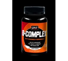 QNT - B-complex 100 Mg. / 100 Tabs. Хранителни добавки, Витамини, минерали и др., Витамин B