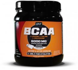 QNT - BCAA 6000 / 240 caps. Хранителни добавки, Аминокиселини, Разклонена верига (BCAA)