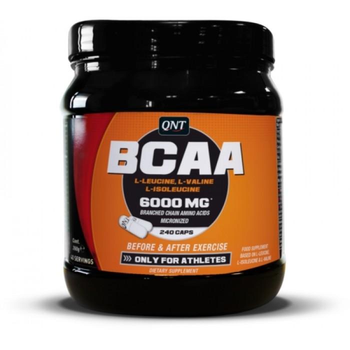 QNT - BCAA 6000 / 240 caps.