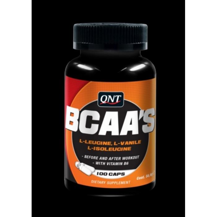 QNT - Bcaa's + Vitamine B-6 / 100 Caps.