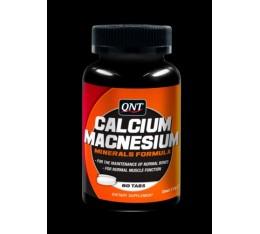 QNT - Calcium & Magnesium / 60 tabs. Хранителни добавки, Витамини, минерали и др., Калций и Магнезий