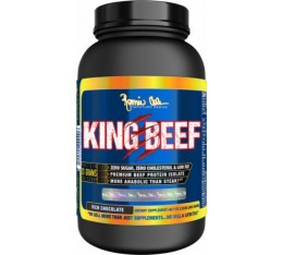 Ronnie Coleman - King Beef 100% Pure Beef Isolate / 1000 gr. Хранителни добавки, Протеини, Телешки протеин
