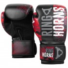 Боксови Ръкавици - Ringhorns Charger Camo Boxing Gloves - Black/Red​