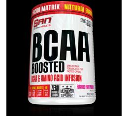 SAN - Boosted BCAA / 40 serv. Хранителни добавки, Аминокиселини, Разклонена верига (BCAA)