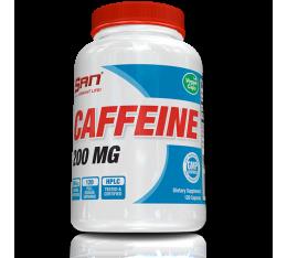 San - Caffeine Anhydrous / 120caps. Хранителни добавки, Отслабване, Кофеин