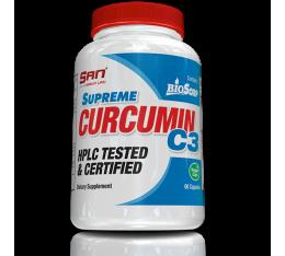 San - Supreme Curcumin C3 / 60caps. Хранителни добавки, На билкова основа