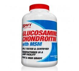 SAN - Glucosamine, Chondroitin and MSM / 180 tabs.
