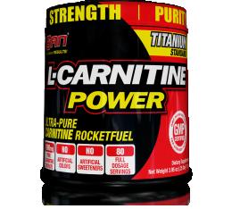 SAN - L-Carnitine Power / 112g.  Хранителни добавки, Отслабване, Л-Карнитин