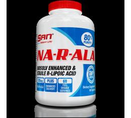 San - Na-R-ALA / 60caps. Хранителни добавки, Антиоксиданти, Алфа-Липоева киселина