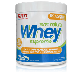 SAN - 100% Natural Whey Supreme / 1lbs. ​