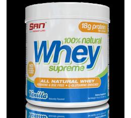 SAN - 100% Natural Whey Supreme / 1lbs.