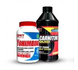 SAN - йохимбин + течен л-карнитин Отслабване, Йохимбин, Л-Карнитин, СТАКОВЕ, Хранителни добавки на промоция