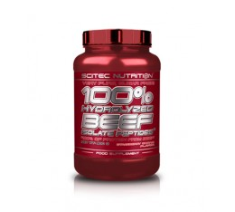 Scitec - 100% Hydrolyzed Beef Isolate Peptides / 900 gr. Хранителни добавки, Протеини, Телешки протеин