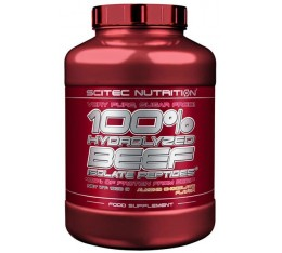 Scitec - 100% Hydrolyzed Beef Isolate Peptides / 1800 gr. Хранителни добавки, Протеини, Телешки протеин