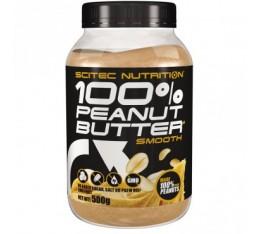 Scitec - 100% Peanut Butter / 500 g Хранителни добавки, Здраве и тонус