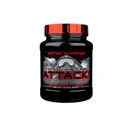 Scitec - Attack 2.0 / 720 gr. Хранителни добавки, Азотни/напомпващи, Хранителни добавки на промоция