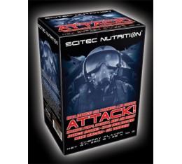 Scitec - Attack / 25 packs. Хранителни добавки, Азотни/напомпващи, Хранителни добавки на промоция