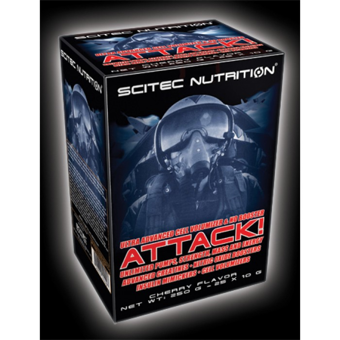 Scitec - Attack / 25 packs.