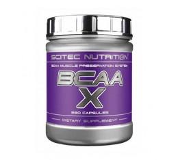 Scitec - BCAA-X / 330 caps. Хранителни добавки, Аминокиселини, Разклонена верига (BCAA)