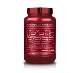 Scitec - 100% Beef Concentrate / 2 lbs. Хранителни добавки, Протеини, Телешки протеин