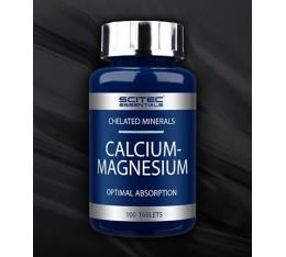 Scitec - Calcium Magnesium / 100 tabs. Хранителни добавки, Витамини, минерали и др., Калций и Магнезий