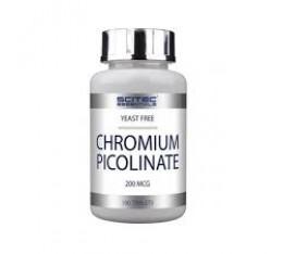Scitec - Chromium Picolinate / 100 tabs. Хранителни добавки, Хром Пиколинат, На билкова основа