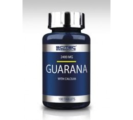 Scitec - Guarana / 100 tabs. Хранителни добавки, Енергийни продукти