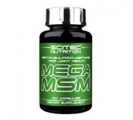 Scitec - Mega MSM 800mg. / 100 caps. Хранителни добавки, За стави и сухожилия