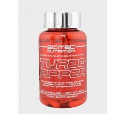 Scitec - Turbo Ripper / 100 caps. Хранителни добавки, Отслабване, Фет-Бърнари
