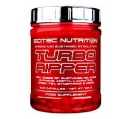 Scitec - Turbo Ripper / 200 caps. Хранителни добавки, Отслабване, Фет-Бърнари