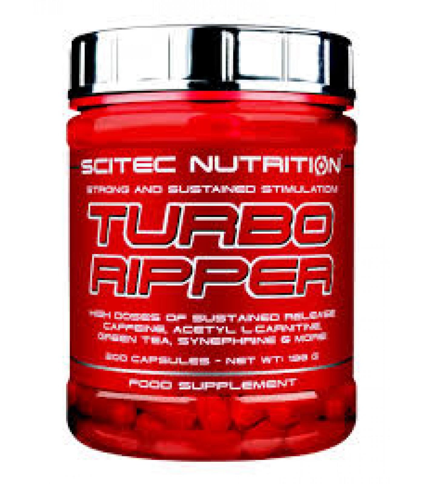 Scitec - Turbo Ripper / 200 caps.