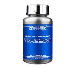 Scitec - Tyrosine 500mg. / 100 caps. Хранителни добавки, Аминокиселини, Тирозин