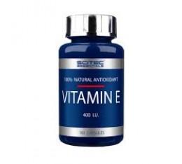 Scitec - Vitamin E / 100 caps. Хранителни добавки, Витамини, минерали и др., Витамин E
