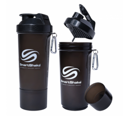 Smart Shake - Slim Gunsmoke Black / 600ml. Шейкъри