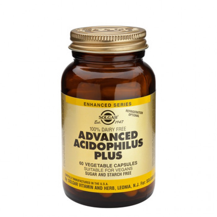 Solgar - Advanced Acidophilus Plus / 60 caps.​