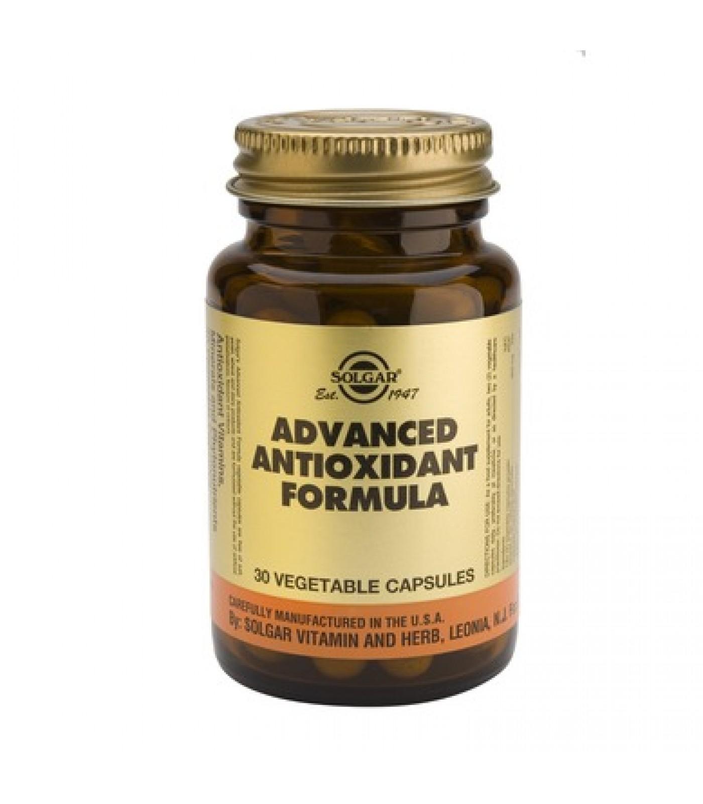 Solgar - Advanced Antioxidant Formula / 30 caps.